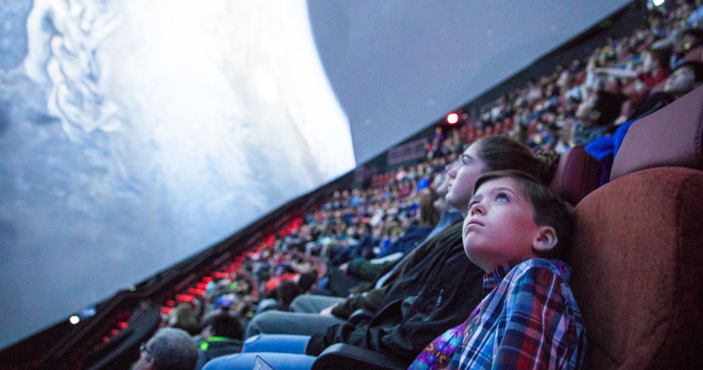 The Very Best Place to Visit Space: The New Jennifer Chalsty Planetarium at Liberty Science Center