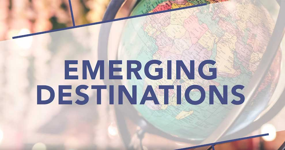 Emerging Student Travel Destinations 2019