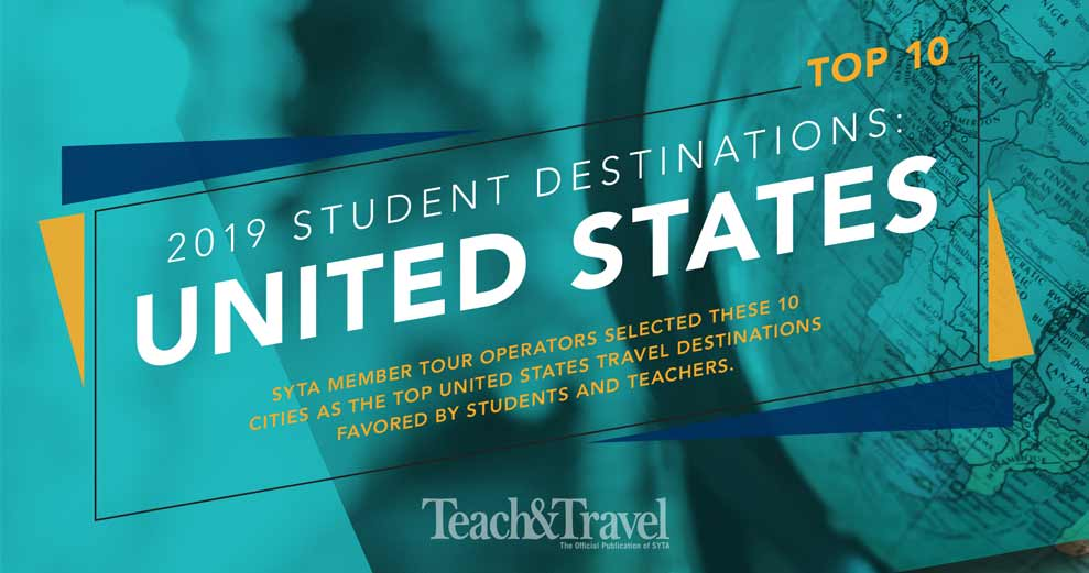 Top 10 Student Destinations 2019: United States