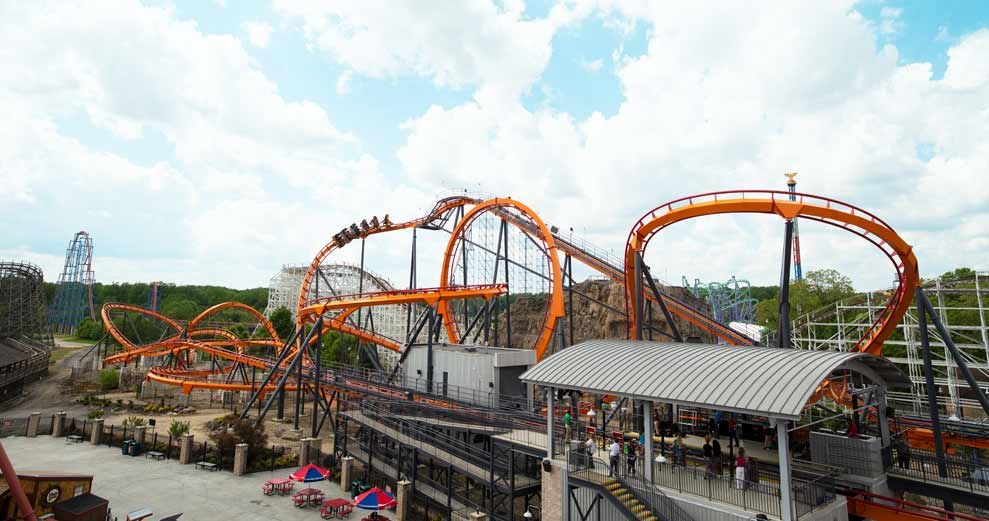 Get Your Thrills at Six Flags America
