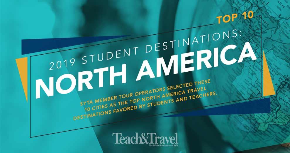 Top 10 Student Destinations 2019: North America
