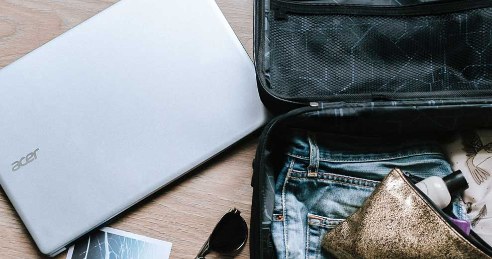 How to Stay Social from Your Suitcase