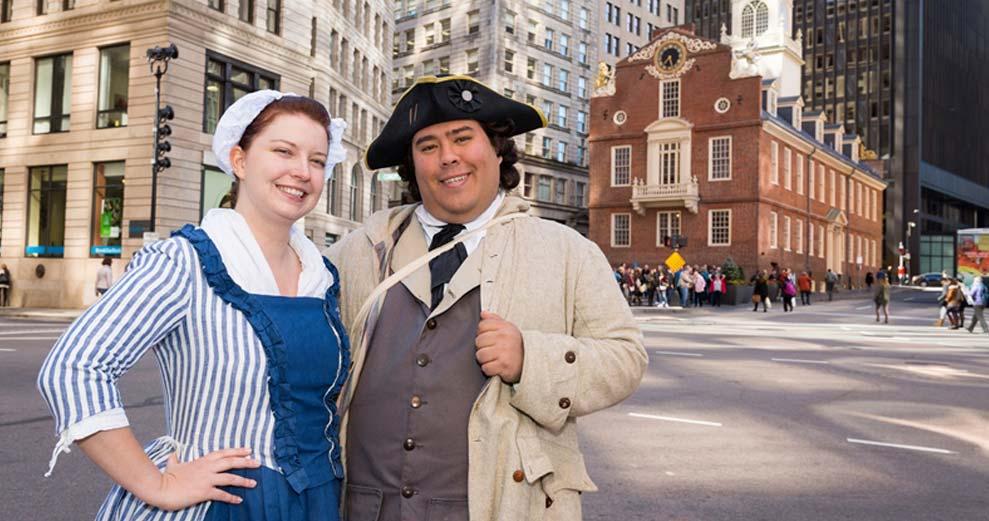 Explore Boston Historic Sites
