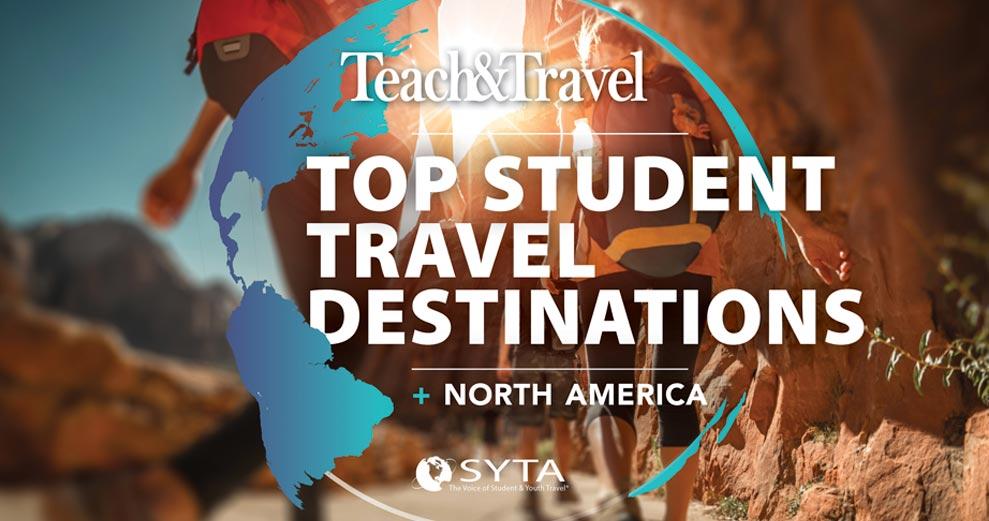 Top Student Travel Destinations - North America